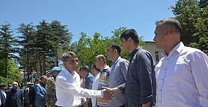 Tatvan'da bayramlaşma töreni