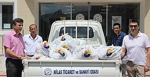 TOBB - MİTSO işbirliğinde 720 aile sevindirildi