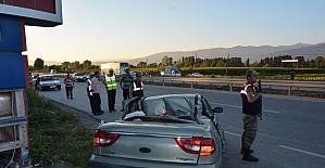 Tokat'ta trafik kazası: 1 ölü, 4 yaralı