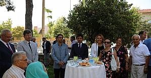 Urla'da bayramlaşma töreni