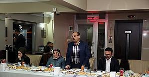Vali Ustaoğlu, personel ile iftarda bir araya geldi