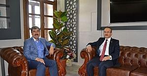 Vali Yavuz'dan Başkan Asya'ya veda ziyareti