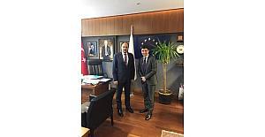 Yabancı diplomatların meclisteki adresi AK Partili Gülpınar'ın makamı oldu