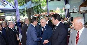 Zonguldak'ta protokol bayramlaşması