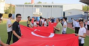 15 Temmuz futbol müsabakası