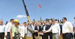 15 Temmuz Şehitler Camii Çamlık'ta yükselecek