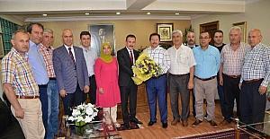 AHİD Başkanı Yaman'dan Ankaragücü Başkanı Yiğiner'e ziyaret