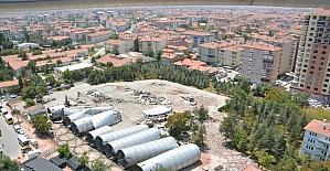 Aksaray'da siloların son kulesi de yıkıldı