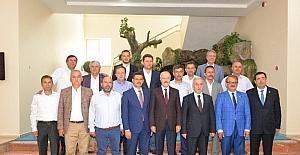 Altıeylül Heyeti Kayseri'de ziyaretlerde bulundu