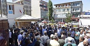 Ardahan'da Mescid-i Aksa protestosu