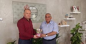 Asimder'den Milli Eğitim Müdürü Aydoğdu'ya ziyaret