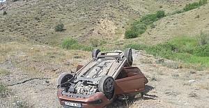 Aşkale'de trafik kazası: 5 yaralı