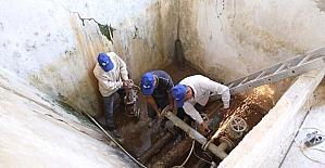 Aydın ASKİ Pamukören'in su deposunu yeniliyor