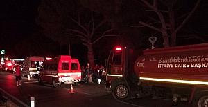 Balıkesirde kaza: 2 ölü, 1 yaralı