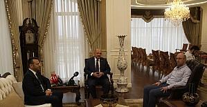 Başbakan Yardımcısı Işık'tan Vali Aksoy'a ziyaret
