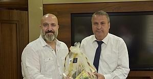 Başkan Çerçi, Şehzade Osmanoğlu'nu ağırladı