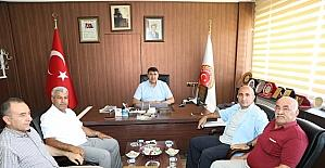 Başkan Kara İl Genel Meclisi Başkanı Karakuş'u ziyaret etti