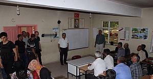 Beğendik beldesinde girişimcilik kursu açıldı