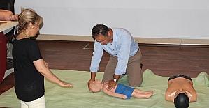 BEÜ Sağlık personeline ilk yardım eğitimi