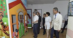 BEÜ'de hasta odaları yenileniyor