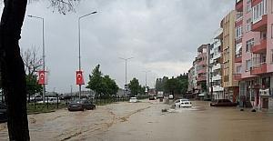 Çanakkale'de şiddetli yağış