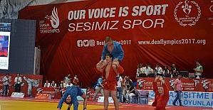 Deaflympics sambo ile renklendi