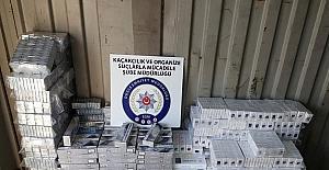 Düzce polisi 6 bin 760 paket kaçak sigara ele geçirdi