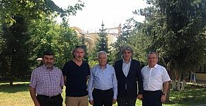 Eski Bakan Murat Başesgioğlu, SFC'yi ziyaret etti