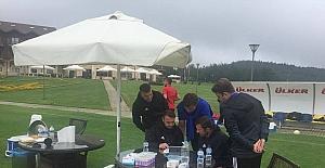 Evkur Yeni Malatyaspor, laktat testinden geçti