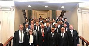 Gaziantep'ten Mehmet Şimşek ve Abdulhamit Gül'e hayırlı olsun ziyareti