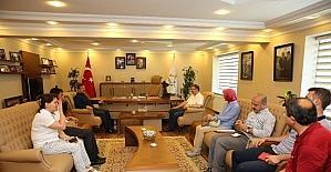 Genel Sekreter Bayram, Darıca'da projeleri inceledi