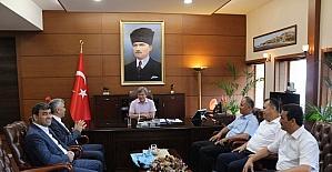 GMİS'ten Vali Çınar'a ziyaret