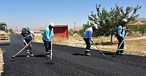 Göller Mahallesinin sokakları asfaltlandı