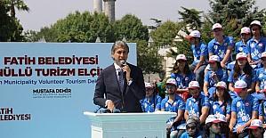 Gönüllü Turizm Elçileri iş başı yaptı