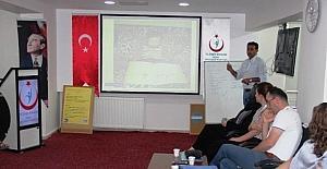 Halk Sağlığı Müdürlüğü eğitim programı düzenledi