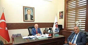 Han Belediye Başkanı Şanlı, Vali Çakacak'ı ziyaret etti