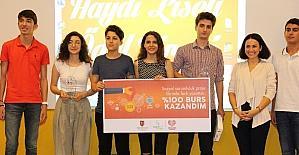 """""""Haydi Liseli"""" yarışması ile girişimci gençler projelerini yarıştırdı"""