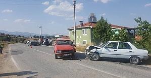 Hisarcık'ta trafik kazası: 5 yaralı