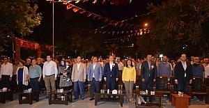 Iğdır'da Demokrasi nöbeti sona erdi