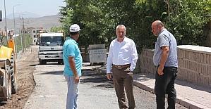 İncesu Belediyesinde asfalt çalışması başladı