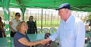 Kadınlar halk merkezinde Başkan Kurt'u ağırladı