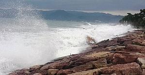 Karadeniz hırçınlaştı