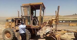Karaköprü mevkiinde çevre düzenleme çalışmalarına başlandı