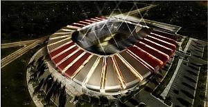 Karaman'a yapılacak olan 15 bin kişilik stadyumun yer teslimi yapıldı