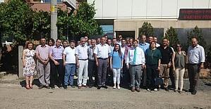 Kaymakam Kızıltoprak okul müdürleri ile bir araya geldi