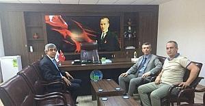 Kaymakam Sırmalı'dan BASKİ Körfez Müdürlüğüne ziyaret