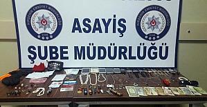 Kırşehir polisi hırsızlık çetesini çökertti