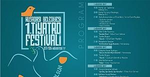 Kuşadası Belediyesi tiyatro festivali 1 Ağustos'ta başlıyor