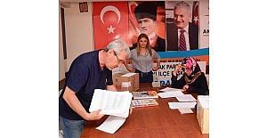Lapseki AK Parti İlçe Başkanlığında delege seçimleri