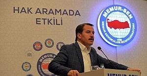 Memur-Sen Genel Başkanı Yalçın'dan toplu sözleşme açıklaması